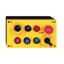 Telemando alámbrico / con 6 botones / con pulsador de parada de emergencia / industrial