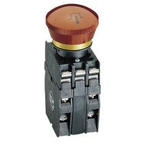 Botón pulsador de seta / de parada de emergencia / IP65