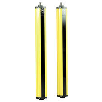 Cortina fotoeléctrica de seguridad de tipo 2 / multihaces / de tipo barrera / IP65