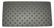 Alfombra de aluminio anodizado / podotáctil