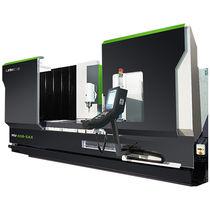 Centro de mecanizado CNC 5 ejes / vertical / de columna móvil / con mesa rotativa