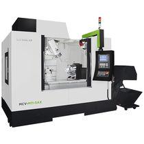 Centro de mecanizado CNC 5 ejes / vertical / con mesa rotativa / con cabezal inclinable