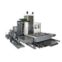Mandrinadora CNC / horizontal / 4 ejes