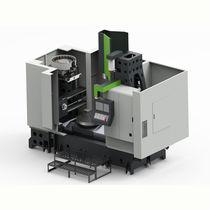 Centro de torneado-fresado CNC / vertical