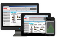 Software de supervisión / de gestión de datos / de SCADA / compatible con HTML5