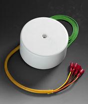 Transformador de potencia / toroidal / para circuito impreso / monofásico