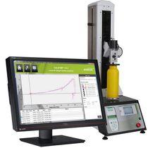 Banco de ensayo de fuerza de desplazamiento / de tracción / de compresión / para laboratorio