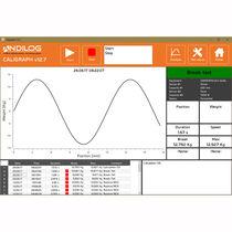 Software adquisición y análisis de datos / medida de fuerza / para la medición del par / en tiempo real