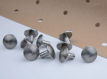 Remache estándar / de cabeza de lenteja / de acero inoxidable / de acero
