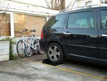 Tope de aparcamiento de estacionamiento