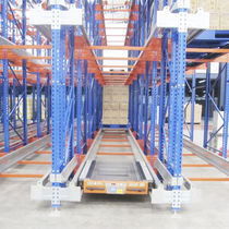 Sistema de estanterías con paleta / para carga pesada
