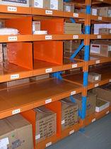 Sistema de estanterías depósito de almacenamiento / para carga alargada