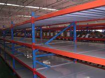 Sistema de estanterías depósito de almacenamiento / para carga alargada / semi-pesada