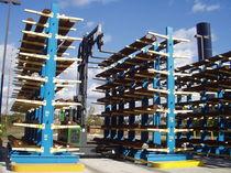 Sistema de estanterías cantilever / para carga alargada / semi-pesada