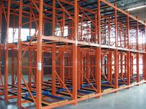 Sistema de estanterías push-back / para carga pesada / de gran altura / dinámico