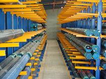 Sistema de estanterías depósito de almacenamiento / cantilever / para carga alargada / semi-pesada