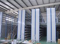 Entreplanta industrial con sistema de ordenación