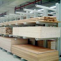 Sistema de estanterías cantilever / para carga alargada / semi-pesada / de acero