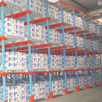 Sistema de estanterías con paleta / depósito de almacenamiento / para carga pesada / semi-pesada