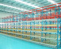 Sistema de estanterías depósito de almacenamiento / dinámico / de acero