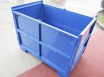 Caja-palé de acero / para almacenamiento