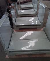 Caja-palé de metal / para almacenamiento