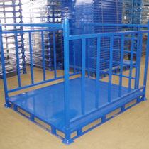 Sistema de estanterías depósito de almacenamiento / para carga mediana / apilable
