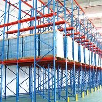 Sistema de estanterías con paleta / depósito de almacenamiento / para carga pesada