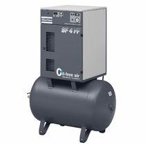 Compresor de aire / estacionario / de motor eléctrico / con espiral