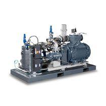 Compresor de gas / transportable / de motor eléctrico / de tornillo