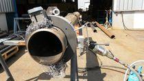 Máquina de corte de acero / de hoja rotativa / de tubos