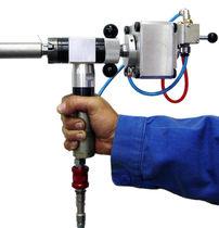 Achaflanadora neumática / portátil / para extremos de tubos