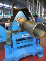 Achaflanadora orbital / para extremos de tubos / automática