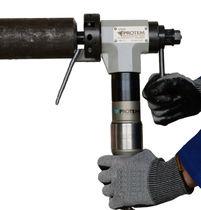 Achaflanadora neumática / portátil / para tubos