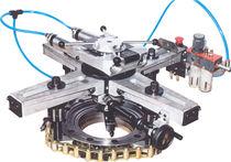 Máquina de torneado 2 ejes / móvil / universal / para bridas y válvulas