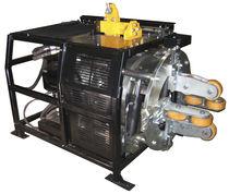 Achaflanadora hidráulica / para extremos de tubos / de gran velocidad