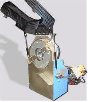 Achaflanadora eléctrica / portátil / de chapa / con alimentación automática
