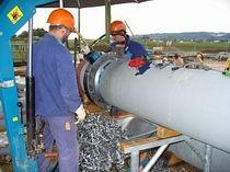 Máquina de corte con control manual / de achaflanado / para extremos de tubos