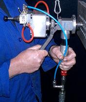 Achaflanadora para extremidades de tubos neumática / portátil / para extremos de tubos