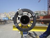 Máquina tronzadora y chaflanadora orbital
