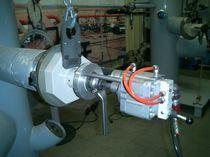 Achaflanadora para extremidades de tubos portátil