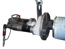 Achaflanadora con sistema de apriete automático