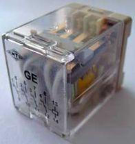 Relé electromecánico 220 V CA / 6 V CC / de alta frecuencia / enchufable