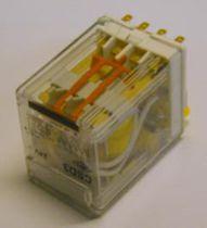 Relé electromecánico 12 V CC / enchufable / de potencia