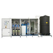 Unidad de microfiltración de membrana / para aguas residuales / para agua