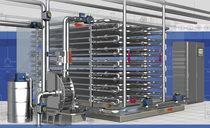 Unidad de descontaminación para agua de proceso