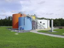 Instalación de tratamiento de aguas residuales / biológica / para sociedades de abastecimiento de agua