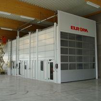 Cabina de pintura cerrada / con filtro / para la industria del automóvil