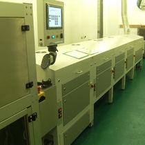 Secador UV / continuo / de revestimiento / con transportador de cinta