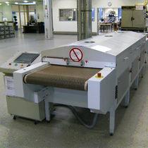 Secador de convección / de infrarrojos / continuo / con transportador de cinta